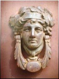 Ρόπτρο - Αρχαία κεφαλή